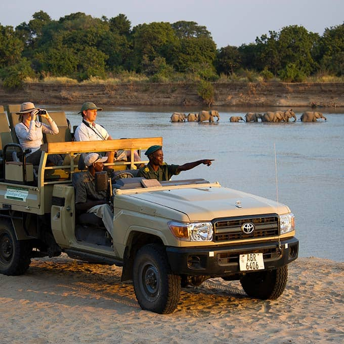 View Flatdogs Camp in South Luangwa National Park