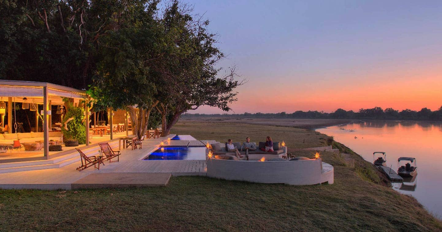 Luxury Lodge Accommodation at Chinzombo in the South Luangwa National Park