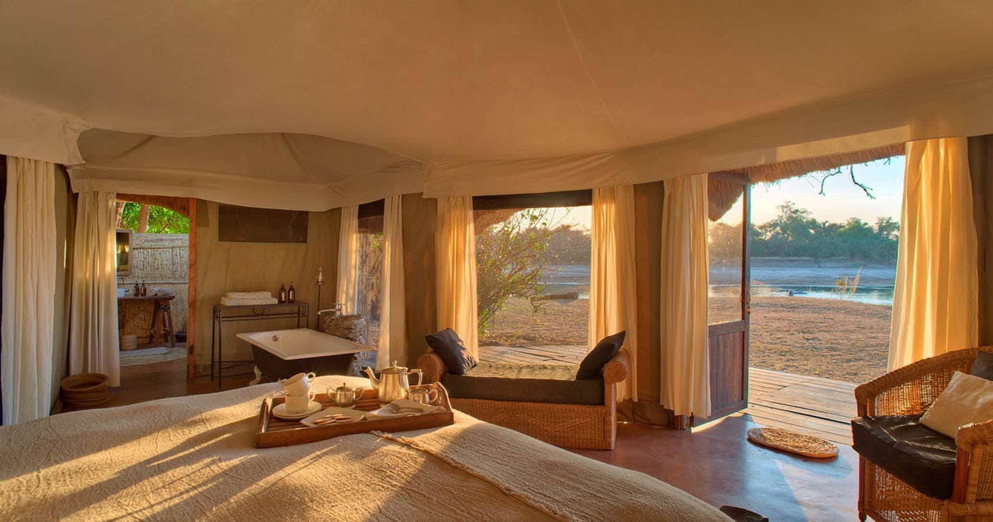Luxury Zambia safari at Mchenja Bush Camp